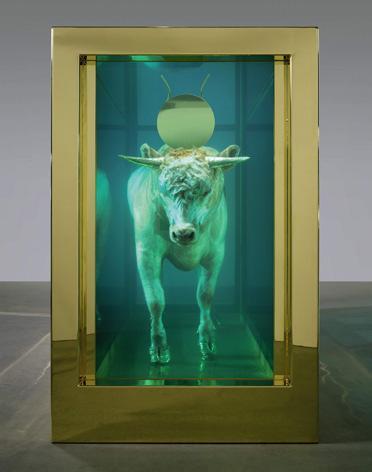 Becerro de oro de Damien Hirst