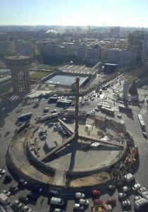 vista-aerea Obelisco Caja Madrid