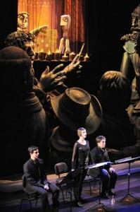El Retablo de Maese Pedro. Foto Ricardo Bofill, cedida Teatro Real