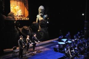 El Retablo de Maese Pedro. Foto Ricardo Bofill, cedida Teatro Real 2