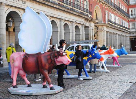 vacas-en-madrid-plaza-mayor