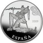 Moneda colección, 50€, óleo El espectro del sex-appeal