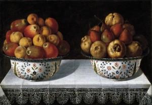 Tomás Hiepes, Dos fruteros sobre una mesa