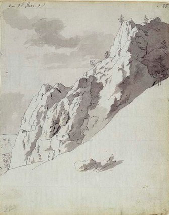 Cara de precipicio, ca,1799