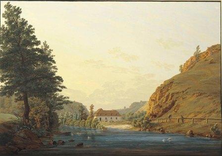 El Molino Real en el llano de Plauen - 1802-1803- P