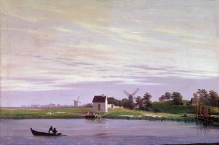 En el Ryk en Greifswald..... Ca.1822-23