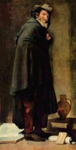 Menipo de Velázquez, Museo del Prado
