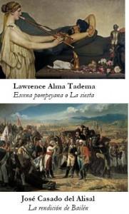 Lawrence Alma Tadema y José Casado del Alisal. Siglo XIX, Museo del Prado