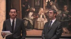 Miguel Zugaza, director del Museo del Prado. Ignasi Miró, director Fundación la Caixa. Foto LOGOPRESS - Pequeña