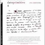 Catálogo, Dato Primitivo 4- 1781 Caso Goya