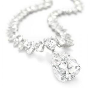 Eve Star on necklace, subasta de joyas, diamantes Christies 10-12-09