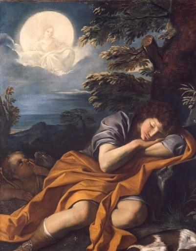 Mola, Pier Francesco - Diana y Endimión (Pinacoteca Capitolina de Roma)