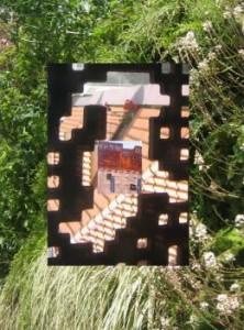 Caixa, Jardín Vertical, ventana, Logopress