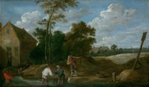 Teniers II El Joven, David, Ansorena, 09