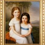 Retrato de dos niñas ante un paisaje. Museo del Romanticismo. Segre dic. 09