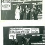 Año 1962. Gala de entrega de premios del 2º Concurso de Escritura de Coca-Cola