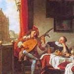 Hendrick Martensz Sorgh, El tañedor de laúd, 1661, Rijksmuseum, Amsterdam