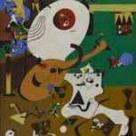 oan Miró (1893-1983), Interior holandés II (Intérieur hollandais),  1928