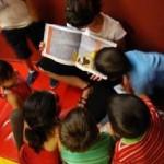 Taller niños, Biblioteca Nacional