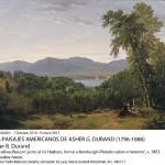 A.B. DURAND – Las colinas Beacon junto al rio Hudson… c.1852