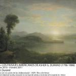 A.B. DURAND – Puesta de sol, recuerdo de las Adirondack 1878