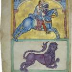 pergamino Tumbo A. Manuscritos, miniados