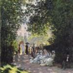 Claude Monet. El Parque Monceau, 1878.