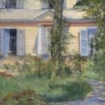 Edouard Manet. Casa en Rueil, 1882. National Gallery of Victoria, Melbourne