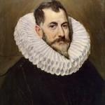 El Greco,1541-1614. Retrato de caballero desconocido ca.1603-1607. Museo del Prado