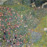 Gustav Klimt. Paisaje de jardín italiano, 1913.