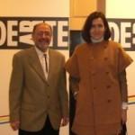 La-Ministra-de-Cultura-y-el-director-de-DEARTE-2010-195×300