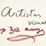 Logo 30 años AAVC, diseñado por Antoni Tapies b