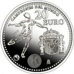 Moneda 2 victoria de la Selección Española en Sudáfrica 2010