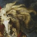 Pedro Pablo Rubens, Detalle, Lucha de San Jorge y el dragón, Museo del Prado