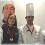 Judit Comes, Medalla de Oro Campeonato del Mundo de Gastronomía  Luxemburgo 2010 -6-