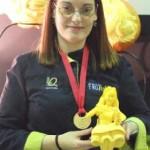 Judit Comes, Medalla de Oro Campeonato del Mundo de Gastronomía  Luxemburgo 2010 -7-