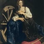 Caravaggio. Santa Catalina de