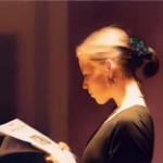 Gerhard Richter. Leyendo, 1994. San Francisco