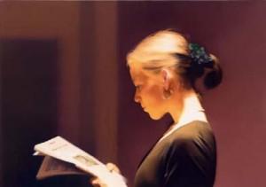 Gerhard Richter. Leyendo 1994. San Francisco 300x211 La Mujer en el Arte Heroínas