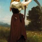 William‐Adolphe Bouguereau. La segadora,