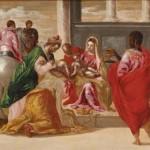 El Greco, Adoración de los Magos.S.XVI Fundación Lázaro Galdiano