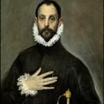 2. Caballero de la mano en el pecho, Greco