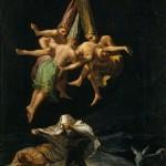 Vuelo brujas, Goya. Museo del Prado