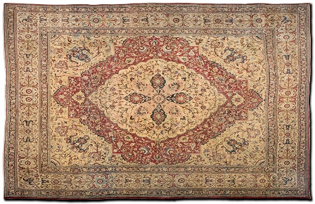 Bermondsey feriarte alfombra persa revista de arte for Alfombra persa roja