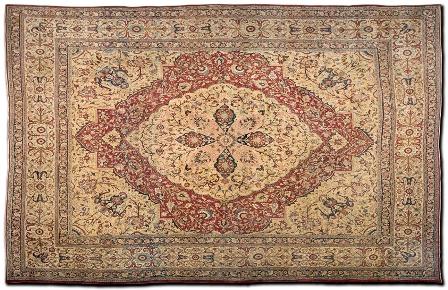 Bermondsey feriarte alfombra persa revista de arte for Alfombras estilo persa