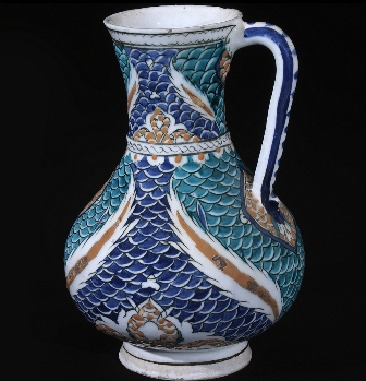 La cer mica turca de iznik en el museo de cer mica de for Curso ceramica barcelona