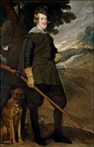 Felipe IV cazador, Velázquez