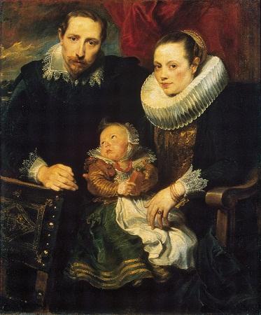 GJ-534;0; Van Dyck, Anthonis. Family Portrait.