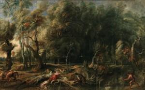 3. Atalanta y Meleagro, Rubens