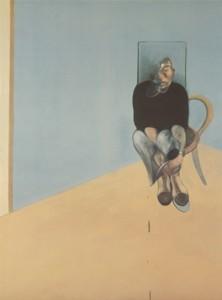 1-Bacon, Study for Self Portrait 1982, 1984, litografía offset. Marlborough
